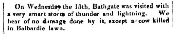 Balbardie - May 1833