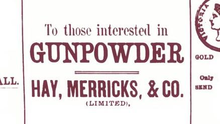 Hay and Merricks Gunpowder