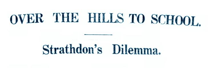 1929 Tillyduke School