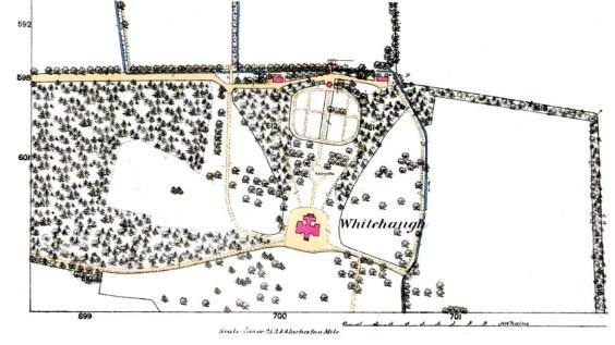 Whitehaugh map 1866