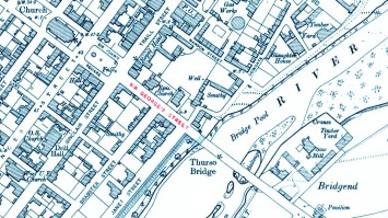1906 map Thurso - Caithness Street has been renamed