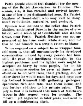 1912 - Gourdiehill - Patrick Matthew