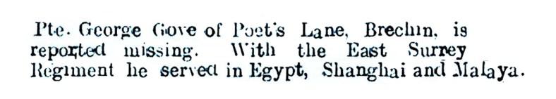 April 1942b - Poets Lane, Brechin