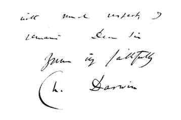 Charles Darwin to Patrick Goudie of Gourdiehill