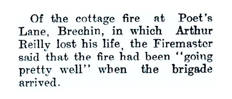 Jan 1957b - Poets Lane, Brechin