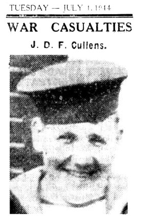 John Cullens WWII Casualty - July 1944