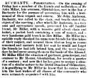 3 June 1870 John Millar, gardener for Graeme Reid Mercer of Glentulchan