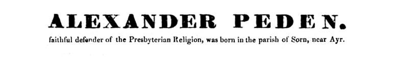 02 The Life and Prophecies of Alexander Peden