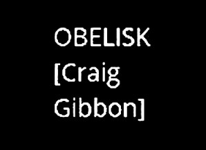 Craig Gibbon obelisk - OS book 3