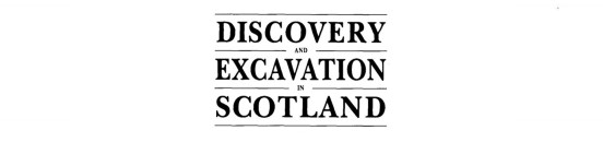 Discovery and Excavation in Scotland 2
