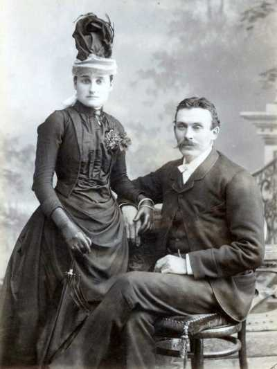 Hugh (Ewan) and Rose McIntyre, Rosecraig