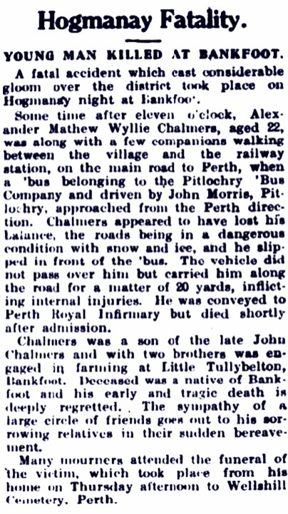 Little Tullybelton January 1929