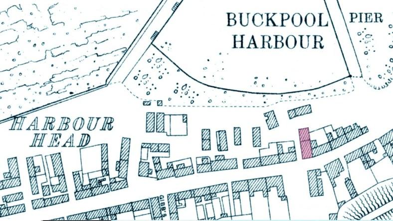 1928 Buckpool OS map