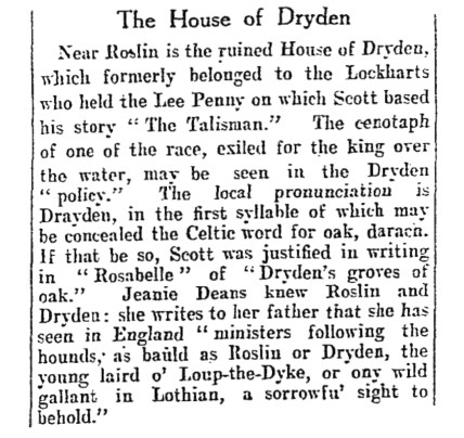 Dryden House - Aug 1931a