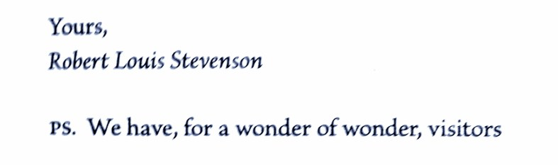 A friendship in letters - Barrie and Stevenson (18)