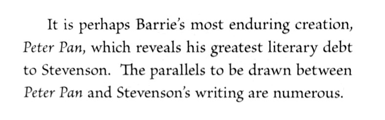 A friendship in letters - Barrie and Stevenson (5)