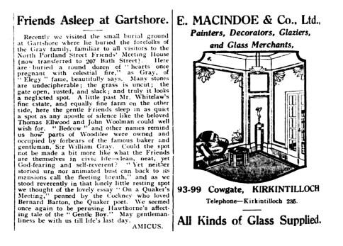 June 1935a Gartshore cemetery