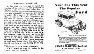 June 1935b Gartshore cemetery
