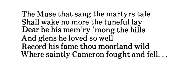 A Very Parochial Anthology - T A Johnston, Sanquhar (4b)