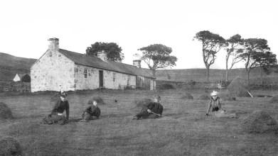 Cormilligan farm c1872