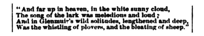High Dalblair - Irvine Times - Feb 1883d