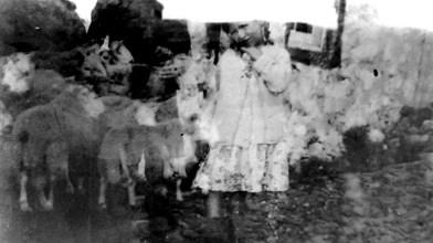 a daughter o' Cormilligan [old torn photograph]