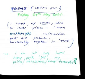 Aberdeen Arms, Tarland - Notes [poems and omphatyps]