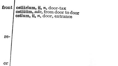 LATIN - door to door