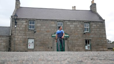 Peter Gordon stays at the Aberdeen Arms, Tarland - end of May 2021 (4)