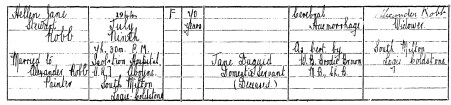 South Miton cottage - Helen Duguid Stewart - death 1944- Logie Coldstone