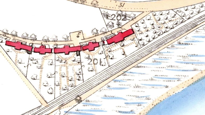 Walnut Grove map 1862