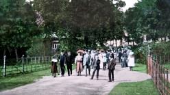 1908 postcard to Nettie Georgeson -entrance to Rouken Glen [2]