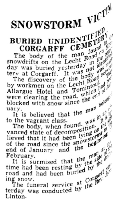 Lecht -Press and Journal - 8 May 1937