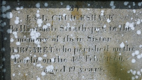 Tombs in Corgraff of Margaret Cruickshank and an 'UNKNOWN MAN' [photos 28 May 2021] (3)