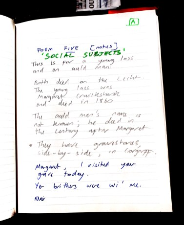 Aberdeen Arms, Tarland - Social subjects - poem 1