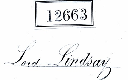 Lord Lindsay, Earl of Crawford - Dunecht (1)