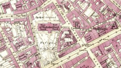 St Nicholas Street - Aberdeen - 1st OS map