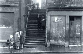 Stairway, St John's Hill, Edinburgh