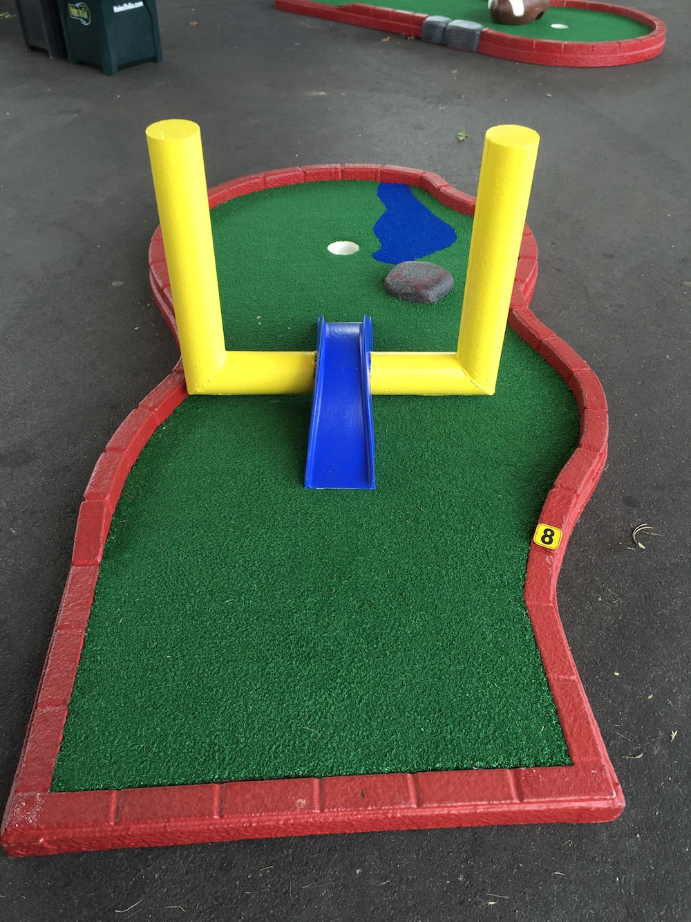 Football Themed Portable Mini Golf Course & Tent Rentals - Holes To Go