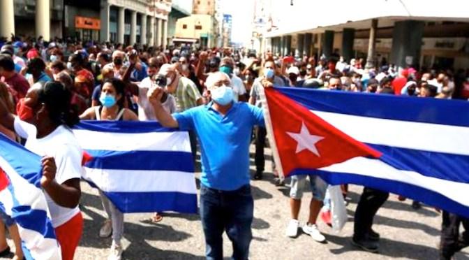 OBISPOS CUBANOS ANTE  MANIFESTACIONES EN CUBA