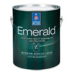 Sherwin Williams Emerald Interior Flat