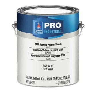 Sherwin-Williams Pro Industrial DTM Acrylic Primer Finish