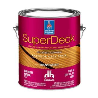 Sherwin-Williams SuperDeck Exterior Oil-Based Transparent Stain