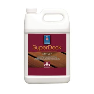 Sherwin Williams SuperDeck Revive Deck&Siding Brightener