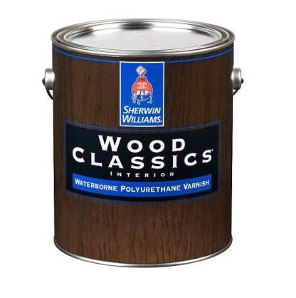 Sherwin Williams Wood Classics лак водный полиуретановый