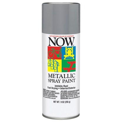 Krylon Now Aluminum 21201 Серая аэрозольная краска