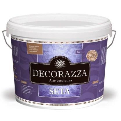 Краска с эффектом мокрый шелк Decorazza Seta