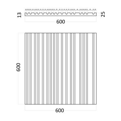 Artpole Barcode гипсовые 3D панели