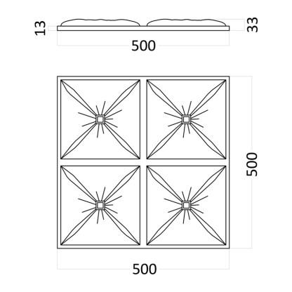 Artpole CHESTER гипсовые 3D панели