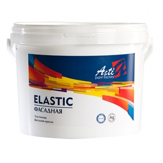 Резиновая фасадная краска Асти Эластик
